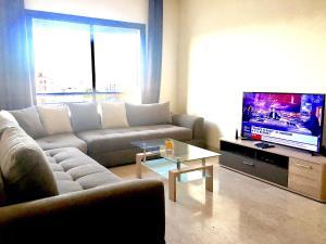 Central, Grand, Confortable, Lumineux, Belle vue, Ferienwohnungen  Casablanca - big - 1