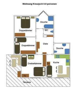 Ferienwohnungen Flörl, Apartmány  Zell am Ziller - big - 14