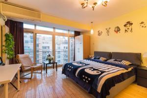 Beijing Jiayuhuxiao Hotel Apartment (Yuanyang Tiandi Branch), Apartmanok  Pejcsing - big - 39