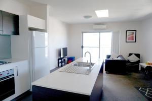 Top floor unit at Vue Apartmen..