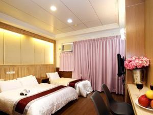 Sun Moon Lake Honeymoon Hotel, Szállodák  Jücsi - big - 19