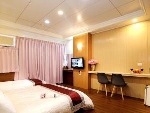 Sun Moon Lake Honeymoon Hotel, Szállodák  Jücsi - big - 20