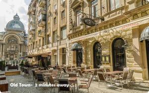 Central Rooms 4 Rent, Апартаменты  Бухарест - big - 12