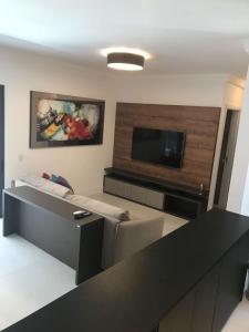 Apartamento Beira Mar Novo Campeche, Appartamenti  Florianópolis - big - 1