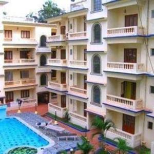 Studio Apartment @ Colonia De Braganza 3 Star Resort, Apartmány  Calangute - big - 8