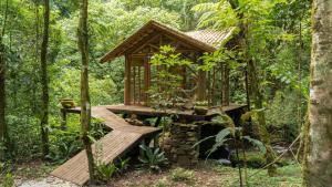 Refúgio Mantiqueira, Chaty v prírode  São Bento do Sapucaí - big - 139