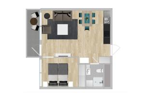 Apartment - Mandalls gate 10-12, Appartamenti  Oslo - big - 37