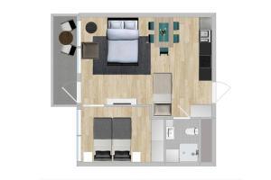 Apartment - Mandalls gate 10-12, Appartamenti  Oslo - big - 36