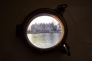 Houseboat Ms Luctor, Boote  Amsterdam - big - 17