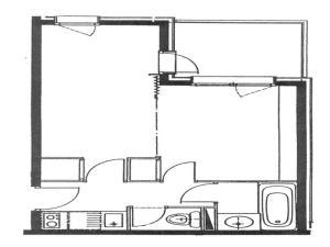 Rental Apartment Cachette - Valmorel I, Apartmány  Valmorel - big - 7