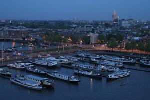 Botel Zebra, Отели типа «постель и завтрак»  Амстердам - big - 13
