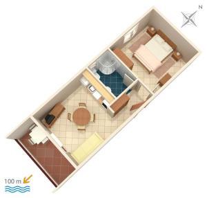 Apartment Vinisce 5229a, Apartments  Vinišće - big - 21