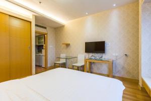 Shanghai Hongqiao Yueyi Apart Hotel, Apartmány  Šanghaj - big - 17