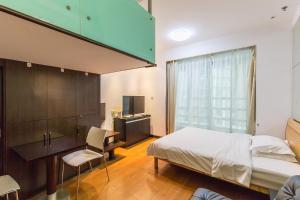 Shanghai Hongqiao Yueyi Apart Hotel, Apartmanok  Sanghaj - big - 4