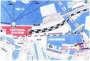 Botel Zebra, Отели типа «постель и завтрак»  Амстердам - big - 15
