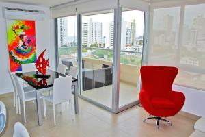 Apartamentos Suiteline Plus – Vista infinita, Апартаменты  Санта-Марта - big - 25