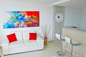 Apartamentos Suiteline Plus – Vista infinita, Апартаменты  Санта-Марта - big - 23