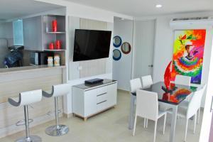 Apartamentos Suiteline Plus – Vista infinita, Апартаменты  Санта-Марта - big - 21