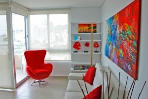 Apartamentos Suiteline Plus – Vista infinita, Апартаменты  Санта-Марта - big - 20