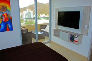 Apartamentos Suiteline Plus – Vista infinita, Апартаменты  Санта-Марта - big - 17