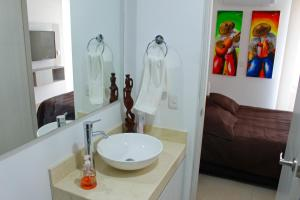 Apartamentos Suiteline Plus – Vista infinita, Apartments  Santa Marta - big - 16