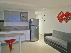 Apartamentos Suiteline Plus – Vista infinita, Апартаменты  Санта-Марта - big - 4
