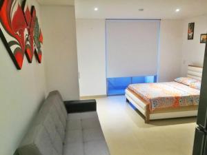 Apartamentos Suiteline Plus – Vista infinita, Апартаменты  Санта-Марта - big - 2