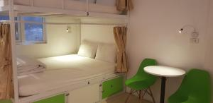 Double Bed in 4-Bed Dormitory Room