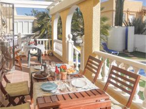 Two-Bedroom Holiday Home in Camposol/Mazarron, Ferienhäuser  Camposol - big - 16