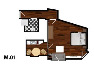 Apartments im Arnimkiez, Apartments  Berlin - big - 107