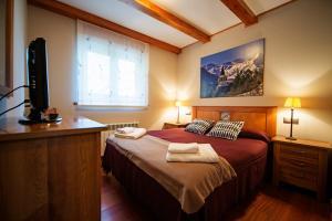 Cap dera Vila - Apartamentos Turísticos, Apartmanok  Vielha - big - 9