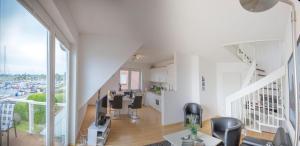 OG-Wohnung-Haus-Marina, Apartmány  Großenbrode - big - 34