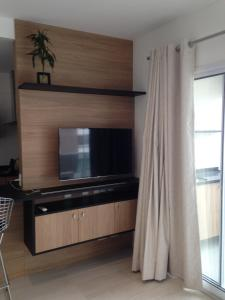 Loft Moderno Berrini, Apartmány  Sao Paulo - big - 10