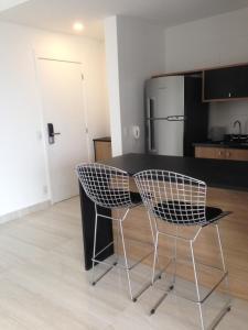 Loft Moderno Berrini, Apartmány  Sao Paulo - big - 8