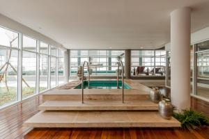 Loft Moderno Berrini, Апартаменты  Сан-Пауло - big - 7
