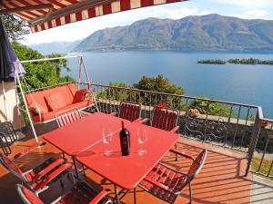 Casa Mirasole App 3333, Dovolenkové domy  Ronco sopra Ascona - big - 17