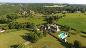 Les Charmes de Carlucet Manor and Villa, Ferienhäuser  Saint-Crépin-et-Carlucet - big - 6