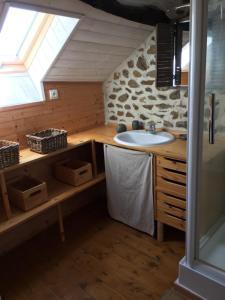 Gîtes au Clos du Lit, Ferienhäuser  Saint-Aaron - big - 29
