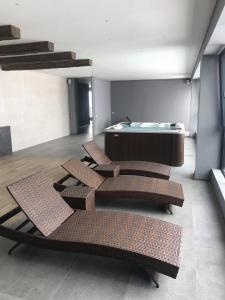 Mgzavrebi Gudauri Apartment 111, Апартаменты  Гудаури - big - 22