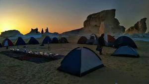 White desert, Campsites  Bawiti - big - 32