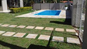 Chalé na represa, Dovolenkové domy  Piracaia - big - 2