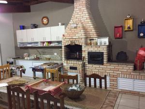 Chalé na represa, Dovolenkové domy  Piracaia - big - 5