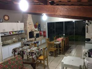 chalé na represa, Dovolenkové domy  Piracaia - big - 7