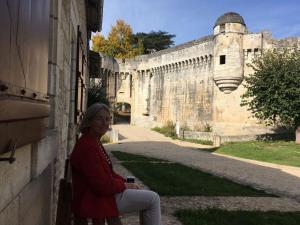 Au Pied du Chateau, Ferienhäuser  Bourdeilles - big - 10