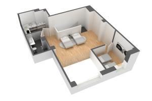 Family Duplex Apartment (2 Adults + 2 Children)