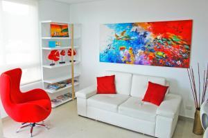Apartamentos Suiteline Plus – Vista infinita, Apartments  Santa Marta - big - 41