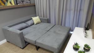 2 Quartos c/ Garagem e Wifi no Batel, Apartmány  Curitiba - big - 6