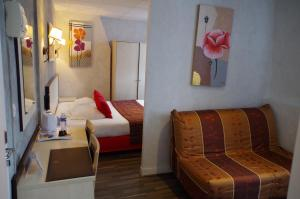 Logis Hotel Beaudon, Hotely  Pierrefonds - big - 11