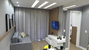 2 Quartos c/ Garagem e Wifi no Batel, Apartmány  Curitiba - big - 10