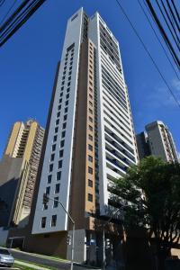 2 Quartos c/ Garagem e Wifi no Batel, Apartmány  Curitiba - big - 17